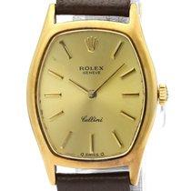 Rolex Cellini 3803 Satisfăcătoare Aur galben 23mm Armare manuala