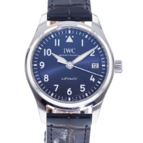 IWC Pilot's Watch Automatic 36 pre-owned 36mm Blue Date Leather