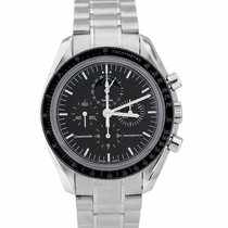Omega Speedmaster Professional Moonwatch Moonphase Steel 40mm Black United States of America, New York, Massapequa Park