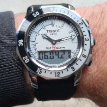 Tissot Sea-Touch Сталь 45mm Белый Без цифр