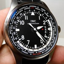IWC Pilot Worldtimer Steel 45mm Black United States of America, North Carolina, Winston Salem