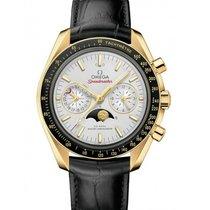 Omega Желтое золото Автоподзавод Cеребро Без цифр 44.25mm новые Speedmaster Professional Moonwatch Moonphase