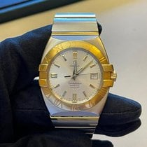 Omega Constellation Double Eagle Gold/Steel 39,5mm Silver