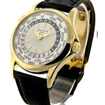 Patek Philippe 5110J-001 Yellow gold World Time 37mm pre-owned