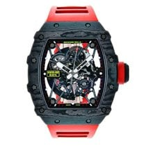 Richard Mille RM 035 Carbon 42mm Transparent Keine Ziffern