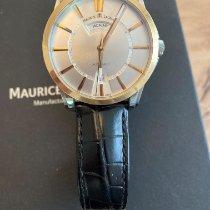 Maurice Lacroix Pontos Day Date Gold/Stahl 40mm Silber Keine Ziffern Schweiz, Roggwil
