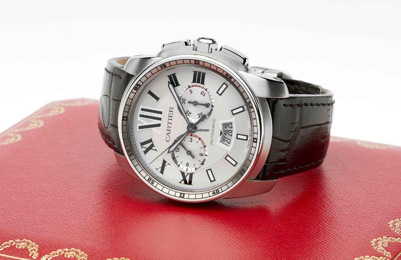 Cartier Calibre de Cartier Chronograph W7100046 2021 new