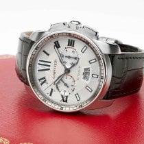 Cartier Calibre de Cartier Chronograph W7100046 Oanvänd Stål 42mm Automatisk