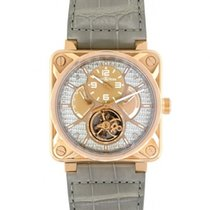 Bell & Ross Rose gold Manual winding 46mm pre-owned BR 01