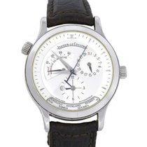 Jaeger-LeCoultre 142.8.92 Steel Master Geographic 38mm pre-owned United States of America, Florida, Boca Raton