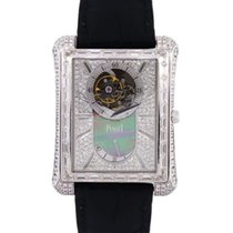 Piaget White gold Automatic Mother of pearl 36mm pre-owned Emperador