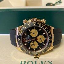 Rolex Daytona Gelbgold 40mm Schwarz Keine Ziffern Schweiz, Plaffeien