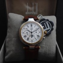Alfred Dunhill Gold/Stahl 40mm Automatik BF340169 gebraucht