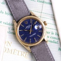 Rolex Oyster Perpetual Date Yellow gold 34mm Blue No numerals United States of America, California, Los Angeles