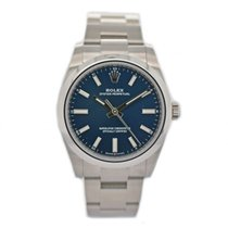 Rolex Oyster Perpetual Acero 34mm Azul