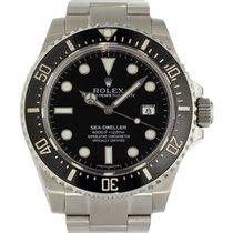 Rolex Sea-Dweller 4000 Stahl 40mm Schwarz Keine Ziffern Schweiz, Lugano