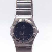 Omega Constellation Quartz Stål 23.5mm Blå