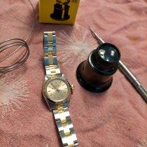Rolex Oyster Perpetual Acero y oro Champán Sin cifras España