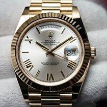 Rolex Day-Date 40 Oro amarillo 40mm Plata España, Barcelona
