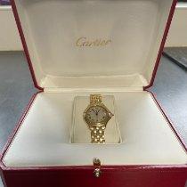 Cartier Cougar Желтое золото 26mm Цвета шампань Римские