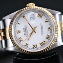 Rolex 16233 Gold/Steel 1994 Datejust 36mm pre-owned United Kingdom, Whitby- North Yorkshire