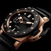 Panerai Rose gold Automatic Black 44mm new