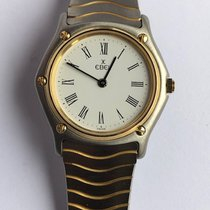 Ebel Classic Gold/Steel 26mm White Roman numerals