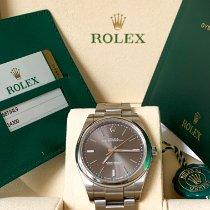 Rolex Oyster Perpetual 39 Acciaio 39mm Blu Senza numeri Italia, Livorno