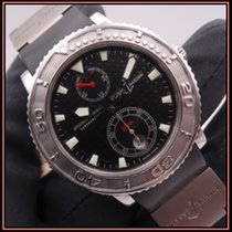 Ulysse Nardin Diver Chronometer Steel 40mm Black No numerals
