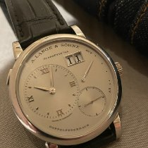 A. Lange & Söhne new Manual winding 38.5mm Platinum Sapphire crystal