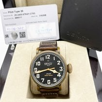 Zenith Pilot Type 20 Extra Special 29.2430.679/21.C753 Very good Bronze 45mm Automatic UAE, Abu Dhabi