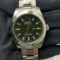 Rolex Milgauss Stahl 40mm Schwarz Keine Ziffern Deutschland, Düsseldorf