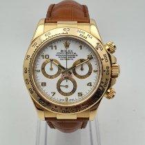 Rolex 116518 Or jaune 2007 Daytona 40mm occasion
