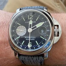 Panerai PAM 00088 Steel Luminor GMT Automatic 44mm pre-owned United States of America, Connecticut, Wilton