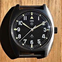 CWC Stahl 36mm Handaufzug British Military CWC W-10 Broad Arrow Watch gebraucht