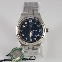 Ball Trainmaster Cleveland Express Steel 41mm Blue Arabic numerals United States of America, New Mexico, Albuquerque