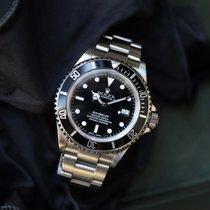 Rolex Sea-Dweller 4000 Staal 40mm Zwart Geen cijfers Nederland, Damwald