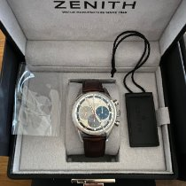 Zenith El Primero Original 1969 Acier 38mm Argent Sans chiffres