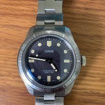 Oris Divers Sixty Five pre-owned 40mm Black