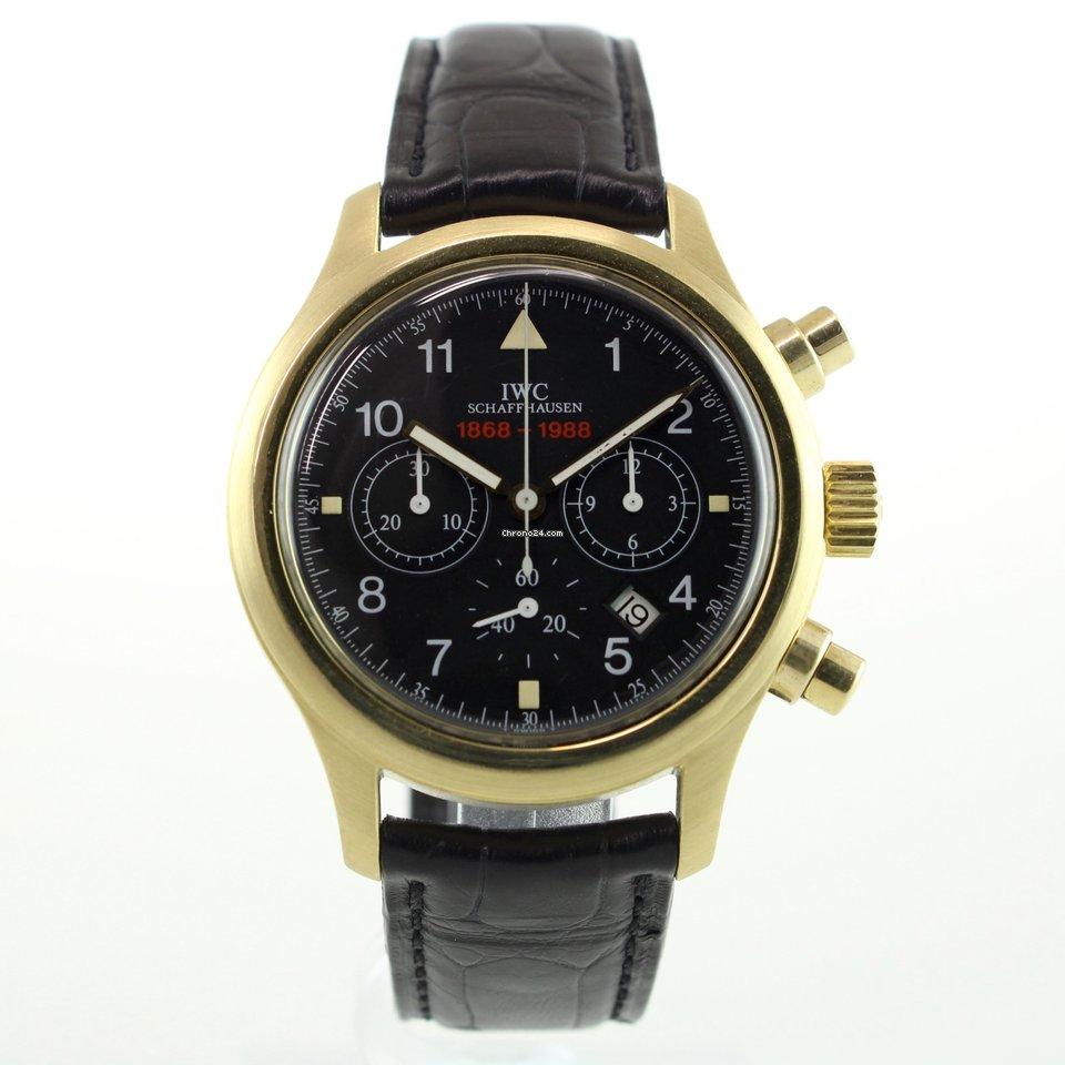 IWC Pilot Chronograph 3740 1989 подержанные