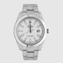 Rolex Datejust II Acero 41mm Blanco