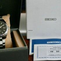 Seiko Spirit Stahl 38mm Schwarz Keine Ziffern