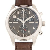 IWC Pilot Spitfire Perpetual Calendar Digital Date-Month IW379107 New Steel 46mm Automatic