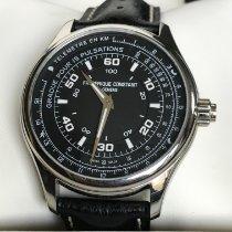 Frederique Constant Horological Smartwatch Steel 42mm Black Arabic numerals