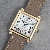 Cartier Tank (submodel) Żółte złoto Srebrny