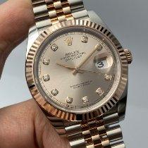 Rolex Datejust II Gold/Steel 41mm Pink No numerals Malaysia