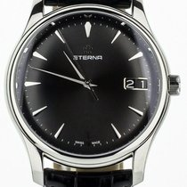 Eterna Steel 42mm Automatic 7630-41-50-1186 pre-owned United States of America, Illinois, BUFFALO GROVE