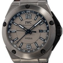 IWC Ingenieur Dual Time Titanium 45mm Grey Arabic numerals United States of America, Texas, Austin