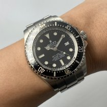 Rolex Sea-Dweller Deepsea Steel 44mm Black No numerals Malaysia