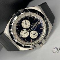 Omega Constellation Double Eagle Acciaio 41mm Nero Senza numeri